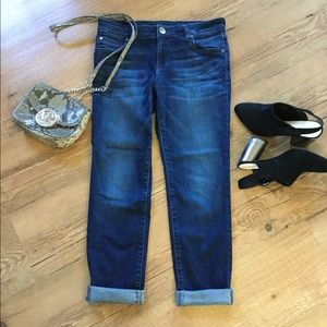 Kut from the Kloth slim bf jeans 👉see size detail
